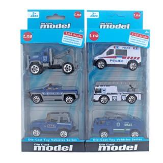 Bộ 3 xe mô hình kim loại TNA (1 64) - TN-1018D (giao ngẫu nhiên)