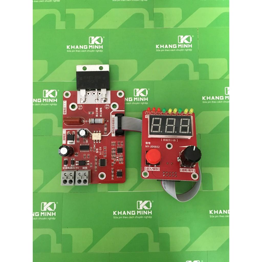 KM Mạch Timer xung kép V2.0, dùng nguồn AC 9V, chế máy hàn điểm, có màn hình hiển thị LED. - 2919092 , 856909253 , 322_856909253 , 390000 , KM-Mach-Timer-xung-kep-V2.0-dung-nguon-AC-9V-che-may-han-diem-co-man-hinh-hien-thi-LED.-322_856909253 , shopee.vn , KM Mạch Timer xung kép V2.0, dùng nguồn AC 9V, chế máy hàn điểm, có màn hình hiển thị L