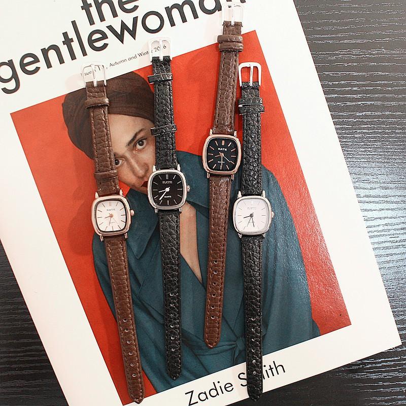 Đồng hồ thời trang nữ Rate mặt vuông R77