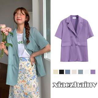 """Áo Blazer ngắn tay thời trang Hàn Quốc dễ phối đồ giá chỉ còn <strong class=""""price"""">10.320.000.000đ</strong>"""