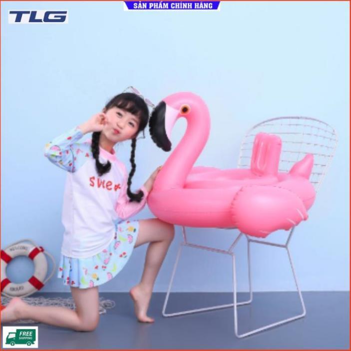 Phao bơi cho bé hình thiên nga- pink 206706-2