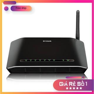 Bộ phát Wifi D-Link DSL-2730E- Moderm wifi Dlink DSL 2730E hàng chính hãng D-Link thumbnail