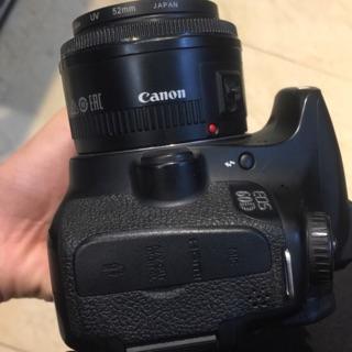 Máy ảnh canon 60D kèm fix 50 f1.8ii