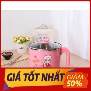 💥HÀNG XỊN💥 Nồi Điện MiniĐa Năng Tặng Kèm Khay Hấp nấu lẩu mini