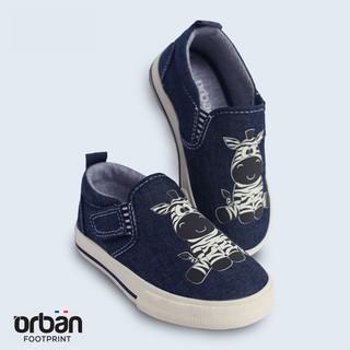 [Mã KIDMALL15 hoàn 15% xu đơn 150K] Giày Slipon bé trai Urban UB1902 xanh bò