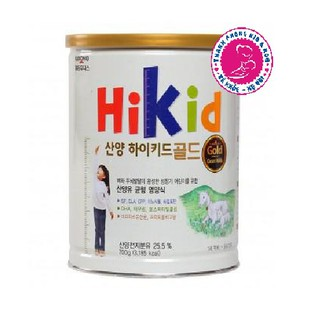 (SALE DATE 8 21) Sữa HiKid Gold (DÊ) 700g Hàn Quốc thumbnail