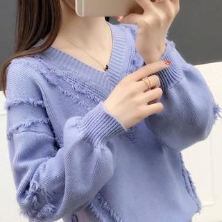[Nhập WASIPN giảm 30K cho đơn 150K] áo khoác len cổ tim phong cách hàn quốc thanh lịch dành cho nữ