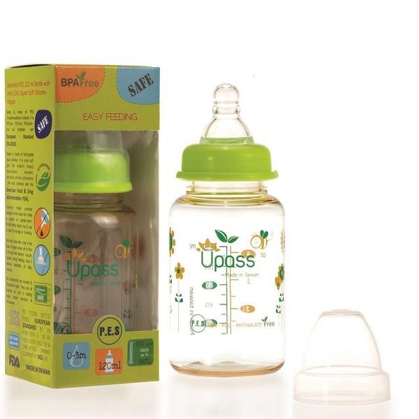 Bình sữa nhựa PES Upass UP02401CC 120ml