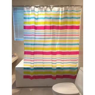 Rèm phòng tắm Rèm cửa sổ sọc 180cm x 180cm Loại 1 thumbnail