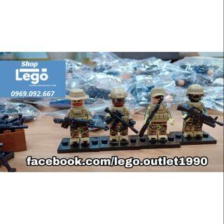Lego xếp hình thủy quân lục chiến Mỹ