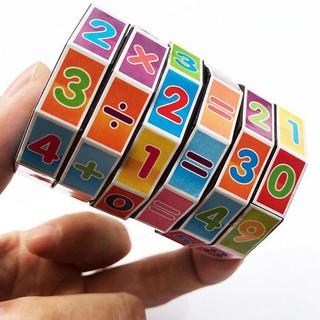 Đồ Chơi Rubik Toán Học 6 Tầng Cho Bé