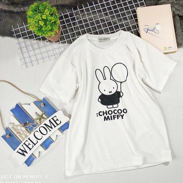 Áo thun thỏ teen siêu dễ thương
