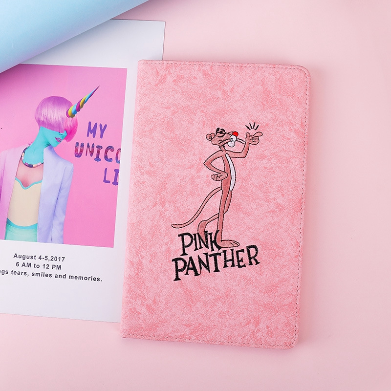 For Xiaomi Mi pad 4 Pad 4 plus 8.0'' 10.1'' pink leopard smart PU leather stand case cover for Mipad