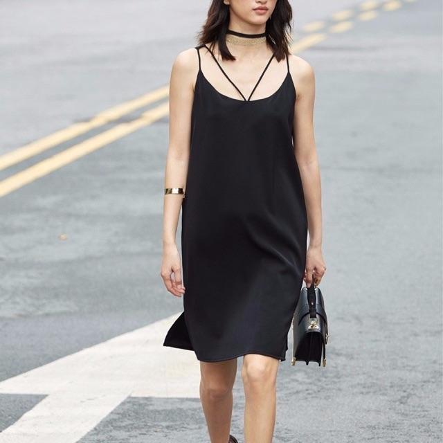 Váy 2s đen