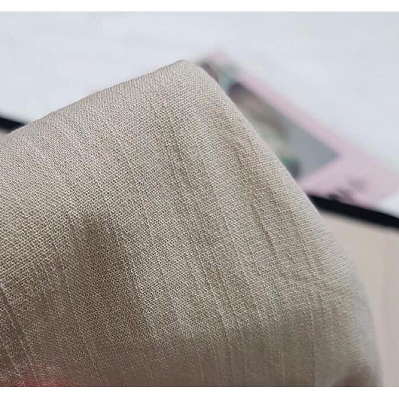 Quần đùi đũi Amee Fashion ống rộng khoá thật, Quần short lửng nữ, Chất đũi mềm mịn, mướt mặc siêu mát