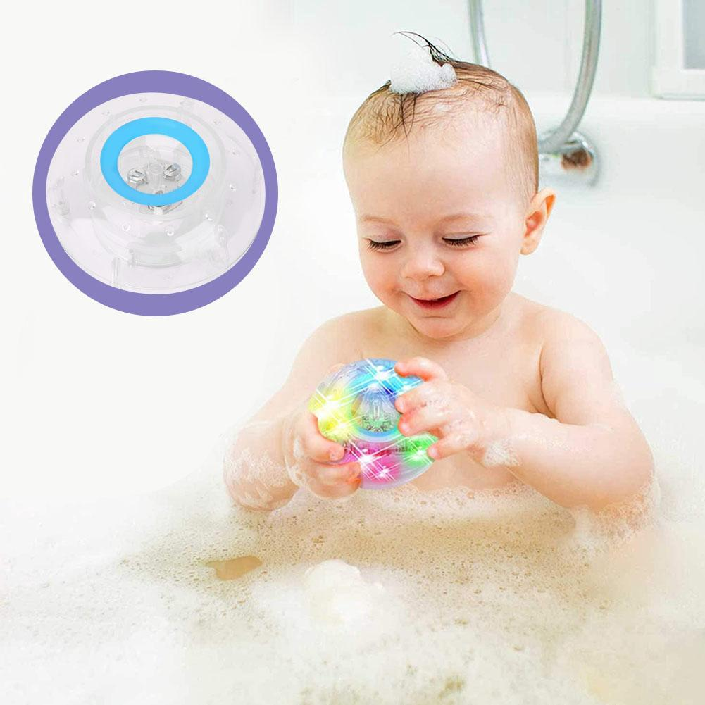 Kids Bath Baby Children Shower Light Floating Toy Toys LED Toy Waterproof Light