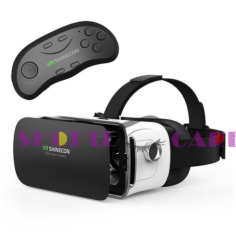 –3D VR Glasses Virtual Reality Googles Cardboard Headset Helmet for Phone