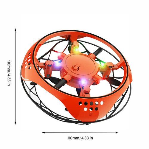 ufo mini drone đồ chơi RC đồ chơi nhỏ cảm ứng thông minh quadcopter máy bay treo chống rơi