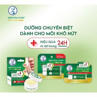 Son dưỡng môi chuyên biệt dành cho môi khô, nứt nẻ Mentholatum Medi Lip Stick Lip Balm thumbnail