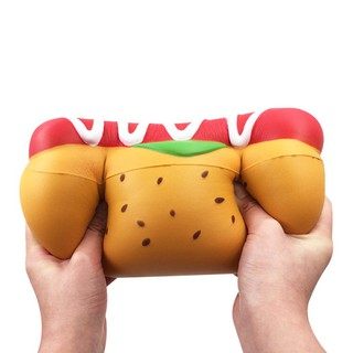 Slow Rebound Oversized Hot Dog Sausage Stress Relief Toy Ornaments