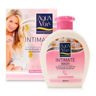 Bộ quà sữa tắm và dung dịch vệ sinh phụ nữ AQUAVERA 315ml/ 1 chai