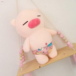 [Safe]Gấu Oenpe lợn bông hồng, chất liệu cao cấp làm quà tặng