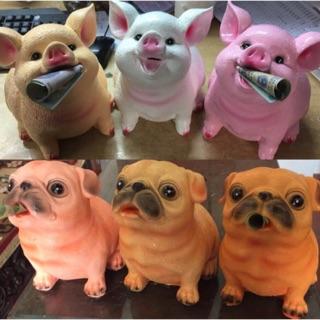 Cún lợn thạch cao