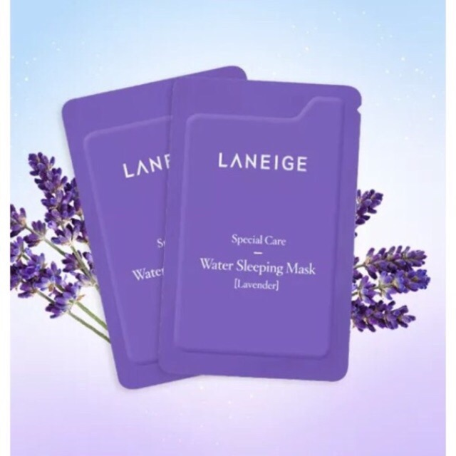 Sample Mặt nạ ngủ Laneige Water Sleeping Mask Lavender