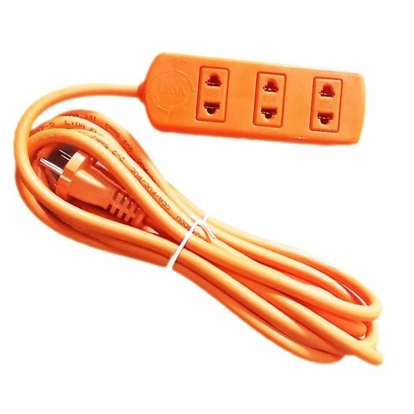 [SIÊU RẺ] Ổ cắm điện LiOA công suất cao 3 ổ cắm 3 mét dây 4000W S3TC