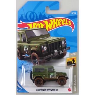 Xe mô hình Hot Wheels Land Rover Defender 90