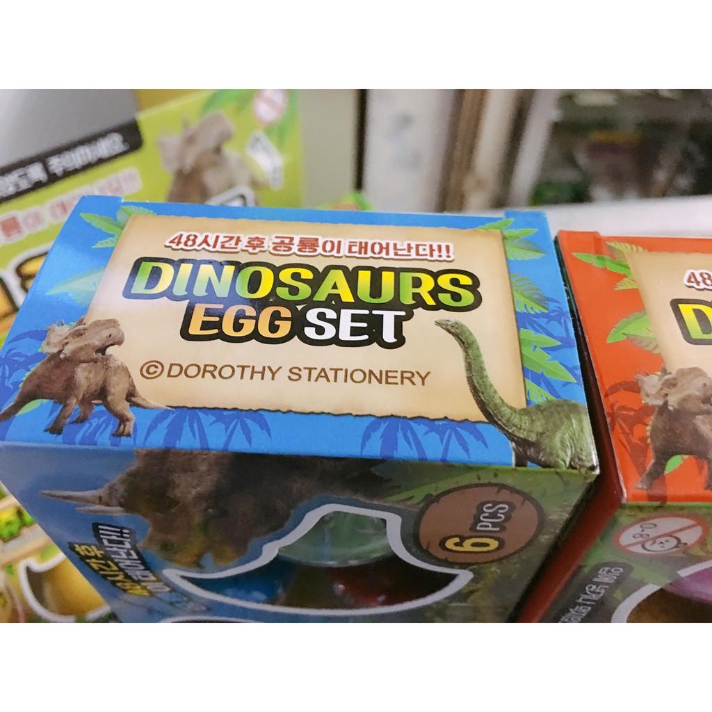 Set 6 trứng nở thần kỳ (Dinosaurs egg)