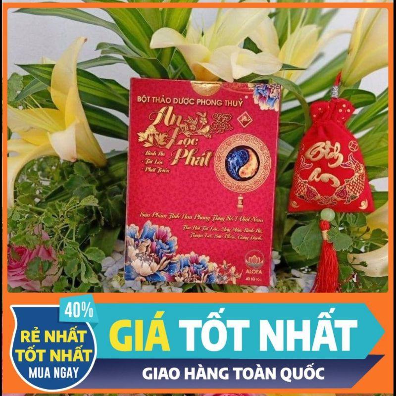 ( Giá cực sốc ) Bột Phong Thủy Chiêu Tài Hút Lộc ALOFA
