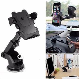 Giá đỡ điện thoại trên xe máy xe ô tô tiện lợi chống rung chống cướp cực chắc chắn