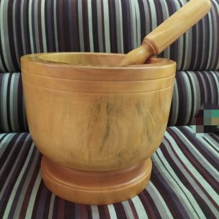 Yêu ThíchBộ cối + chày siêu lớn gỗ tốt đường kính 30cm làm gỏi thái