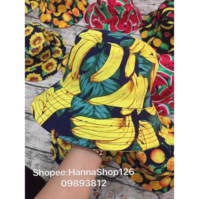 Mũ hoa quả nhóm hàng xưởng Hanna
