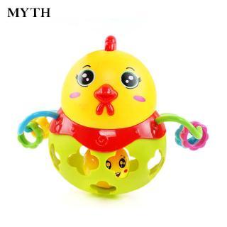 Chicken Shaking Bell Durable Shaking Bell Ball Random Color for kids Fine