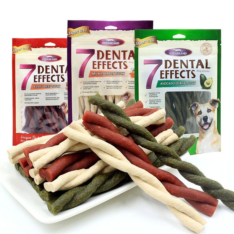 [HCM]Xương gặm 7 Dental Effect sạch răng thơm miệng cho chó