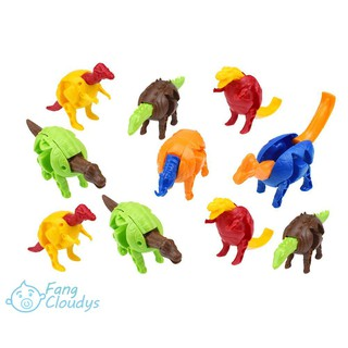FANC★Colorful Deformed Dinosaurs Egg Toys Children Educational Capsule Toys