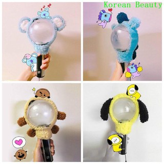 [COD]Bangtan Boys KPOP BTS BT21 Chimmy Shooky Light Stick Plush Head Cover LightStick