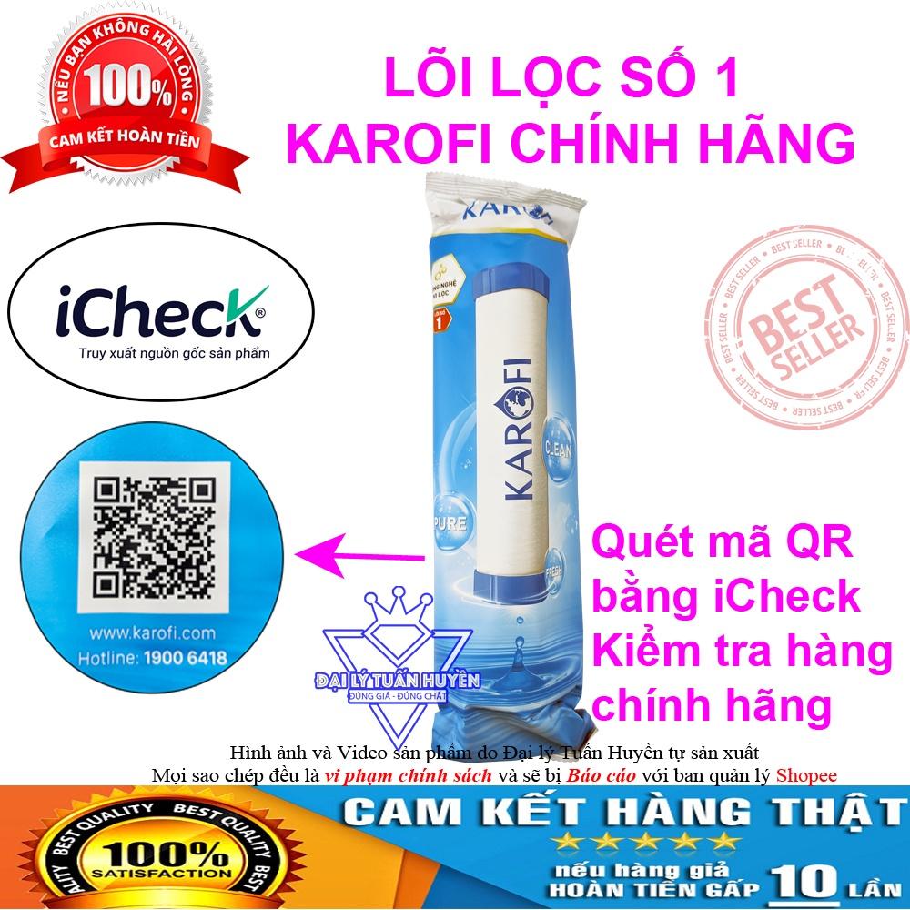 [GIÁ HỦY DIỆT] Lõi số 1 Karofi - Thay được cho tất cả các loại máy lọc nước RO