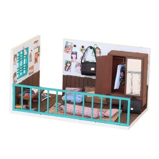 Mô Hình Phòng Sài Gòn Xưa Bằng Gỗ DIY Tự Lắp Ráp - Thế Giới Tí Hon - Góc Ký Ức - Mã SP TX03