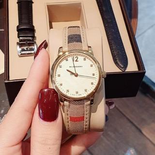 Đồng hồ BURBERRY nữ dây da viền thép k gỉ mẫu mới nhất MTP-STORE thumbnail