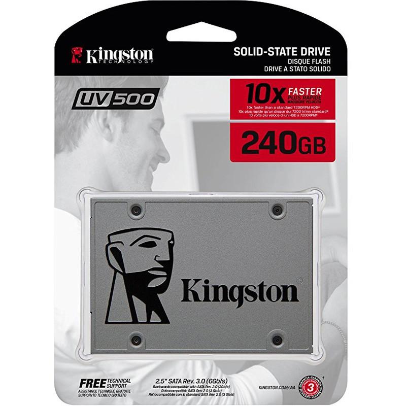 Ổ Cứng Thể Rắn SSD KT 240GB v500 bảo hành 36 tháng 1 đổi 1