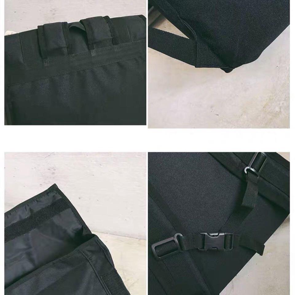 BALO ULZZANG BASIC ( chống nước ) ( 2 khoá nhựa đen song song) - B09 | SaleOff247