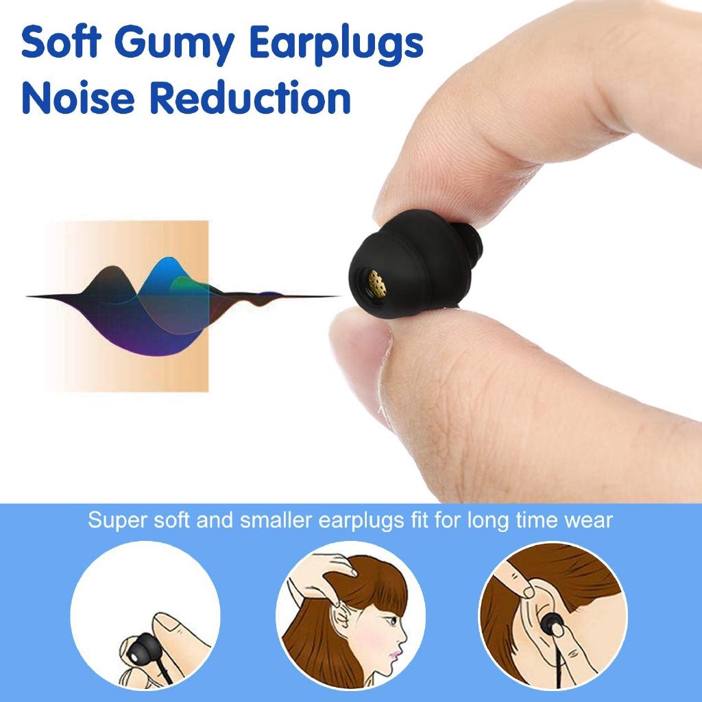 Tai nghe nhét tai GOOJODOQ kết nối giắc 3.5mm tiện dụng cho điện thoại
