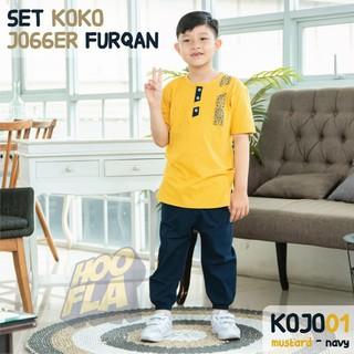 Koko Bộ Quần Áo Cotton Phong Cách Hồi Giáo Cho Bé Từ 4-12 Tuổi