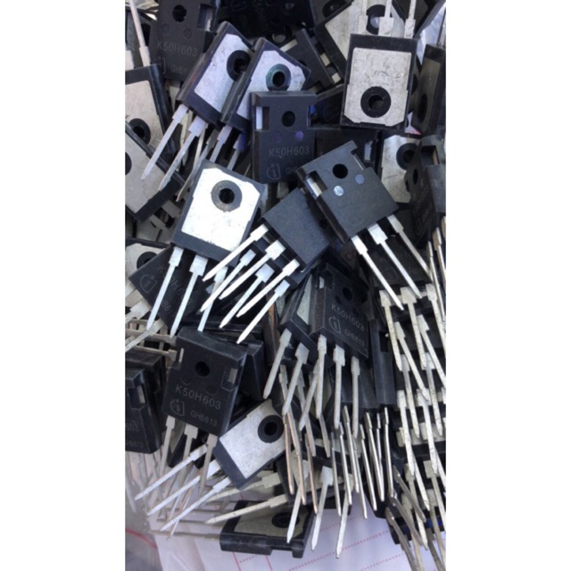 Transistor (sò) công suất 50N60 - 3379838 , 778542881 , 322_778542881 , 40000 , Transistor-so-cong-suat-50N60-322_778542881 , shopee.vn , Transistor (sò) công suất 50N60