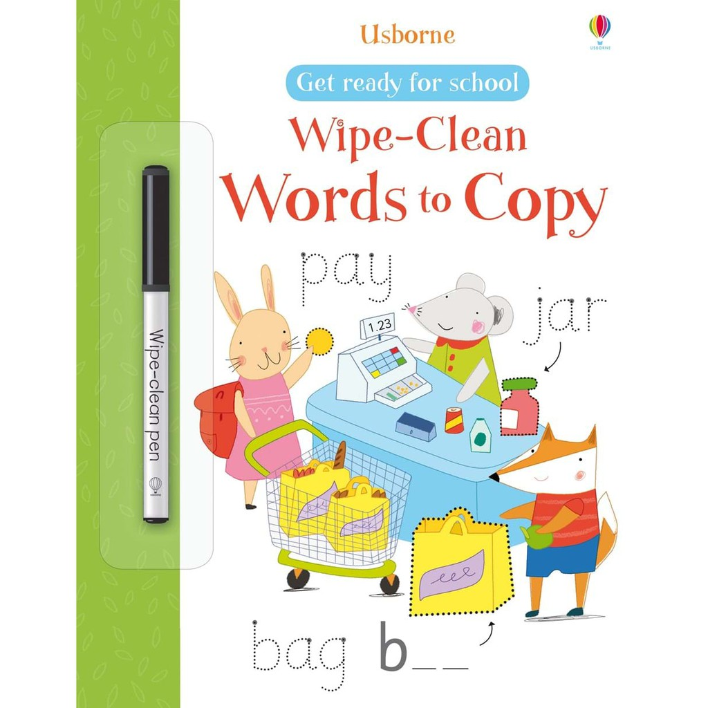 Sách - Wipe Clean Words To Copy