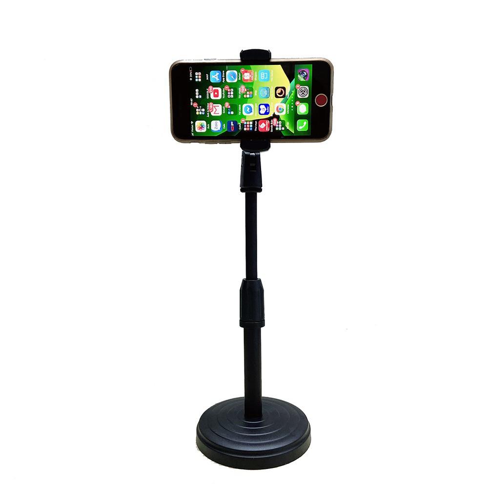 Giá Đỡ Điện Thoại Để Bàn Chụp Hình Ảnh Treo Kẹp Chân Đế Ipad Smartphone Coi Xem Phim Chơi Game Livestream