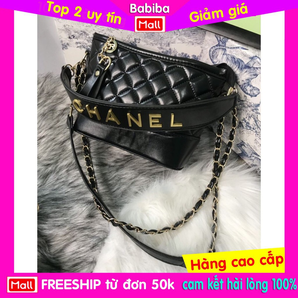 Túi Nữ đeo chéo chữ đồng nổi hobo Ngọc Trinh Hot Hittt size 22